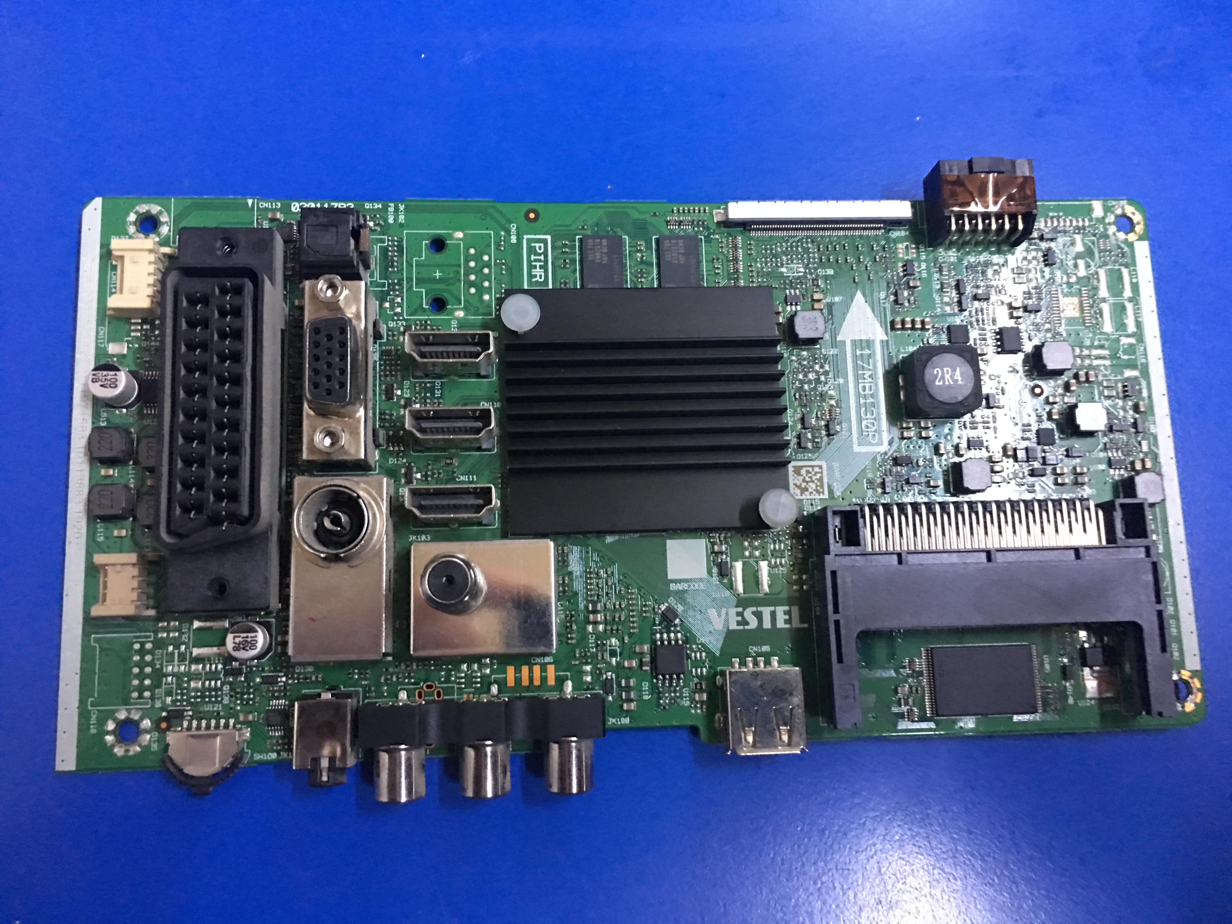 17MB130P, Main Board, 550QNYL-2D-N01, VESTEL, 4K SMART55UD8400
