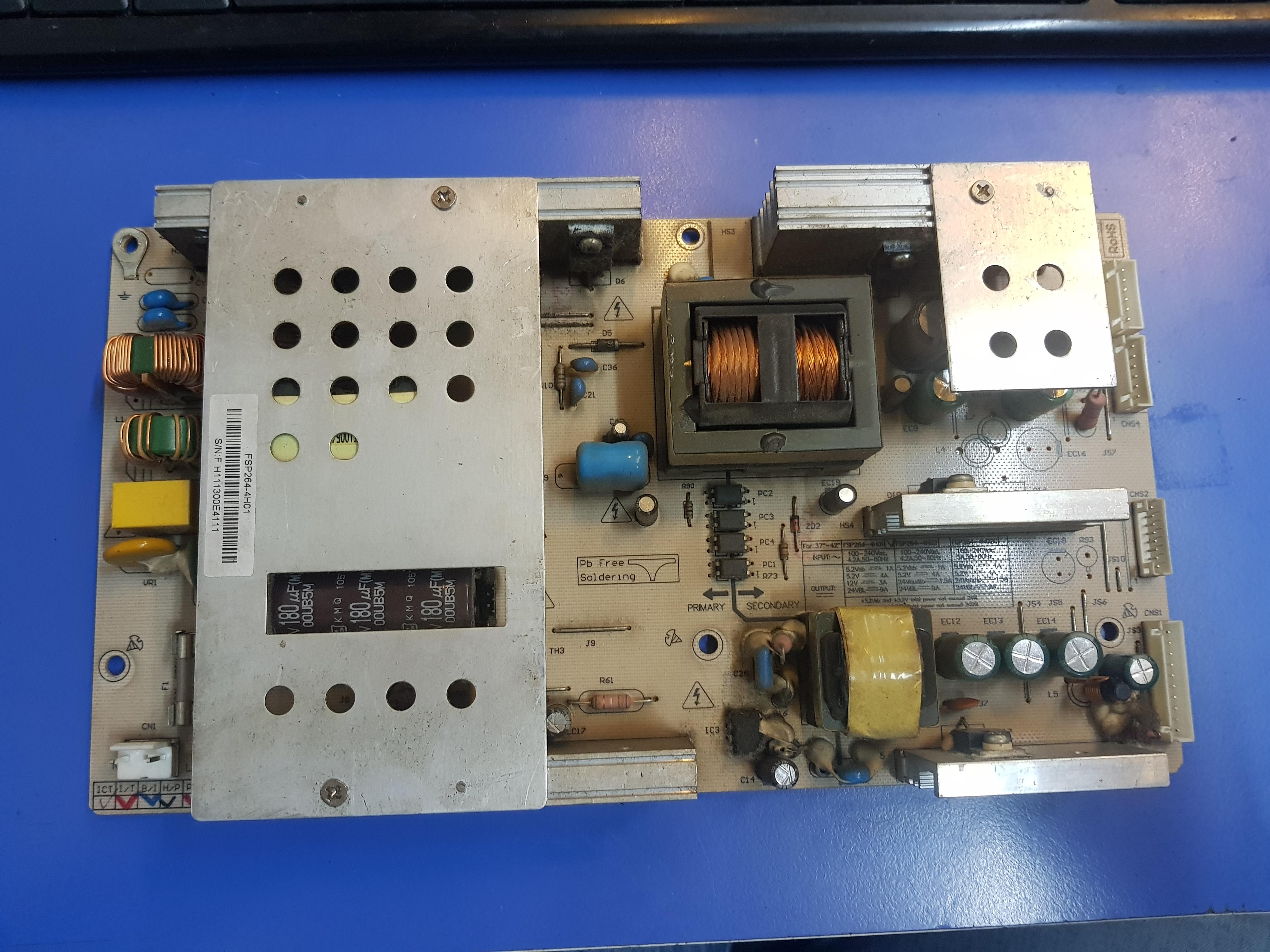 FSP264-4H01 FSP264-4H01, FSP264-4H02, 3BS0214116GP, LTA400HA07, Power Board, AXEN AX040LM8-T2M, AXEN AX040L06, SUNNY SN040LM8-7F, SUNNY SN040LM8-7F 40 LCD