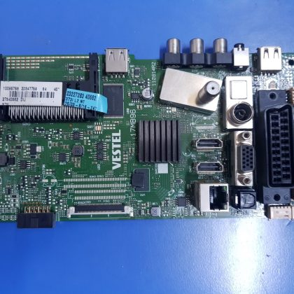 17MB9623247759, 23227283, 17MB96, 110814R2, Main Board, VES400UNVS-2D-N02, 23247529, VESTEL SMART 40FA7100 40 LED TV